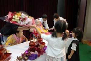 トーカチ家族花束・記念品