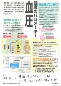健康のバロメーター血圧
