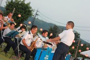 祭り自衛隊演奏①