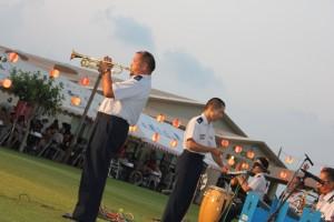 祭り自衛隊演奏②
